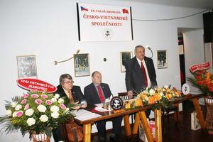 Hội hữu nghị Séc-Việt góp phần xây dựng tình hữu nghị giữa hai nước