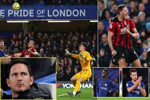 Thua sốc trước Bournemouth, CĐV Chelsea đòi 'tống cổ' Frank Lampard