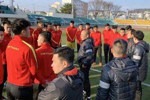 Vì sao U23 Việt Nam tập huấn ở thời tiết dưới 10 độ trước VCK U23 châu Á?