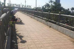 Nữ sinh viên năm nhất tử vong bất thường trên cầu vượt bộ hành Suối Tiên