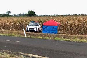 Máy bay rơi xuống cánh đồng ngô, 2 người thiệt mạng