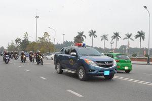 Phòng cảnh sát cơ động Nghệ An ra quân truy quét tội phạm