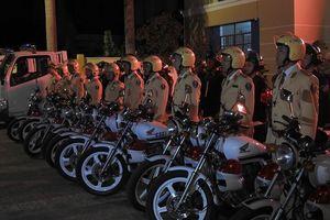 Kon Tum: Ra quân cao điểm đảm bảo trật tự an toàn giao thông dịp Tết