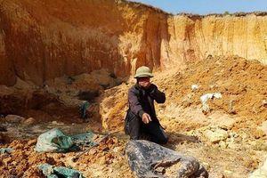 Xác định kẻ chủ mưu vụ chôn trộm chất thải nguy hại ở Sóc Sơn