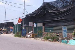 Huyện Thường Tín chuẩn bị cưỡng chế công trình trên đất nông nghiệp