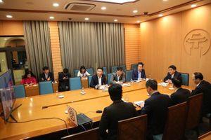 Hà Nội xem xét hợp tác với doanh nghiệp Italia quy hoạch cây xanh