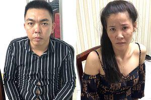 Bắt 2 vợ chồng mua bán, tàng trữ ma túy