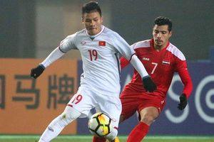 Báo châu Á 'choáng' với lượt bình chọn 'khủng' cho bàn thắng của Quang Hải