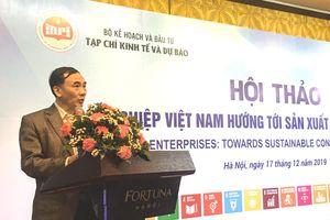 Doanh nghiệp Việt Nam hướng tới sản xuất và tiêu dùng bền vững