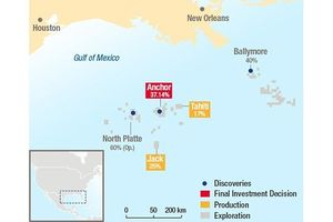 Total triển khai FEED cho dự án phát triển mỏ North Platte (Vịnh Mexico)