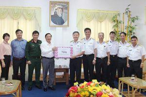 Bí thư Tỉnh ủy Khánh Hòa thăm các đơn vị quân đội đứng chân trên địa bàn