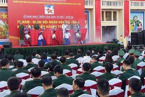 Khai mạc triển lãm 75 năm Quân đội nhân dân Việt Nam tại Hải Phòng
