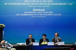 MDCR chỉ rõ ba rào cản lớn với sự phát triển kinh tế của Việt Nam