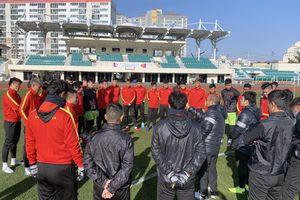 U23 Việt Nam tập luyện gì ở Hàn Quốc?