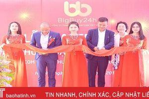 Bigbuy24h Việt Nam khai trương văn phòng đại diện tại Hà Tĩnh