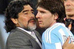 Huyền thoại Maradona tiết lộ về giây phút 'sụp đổ' của Lionel Messi