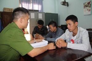 Quảng Nam: Bắt nhóm thanh niên cố ý gây thương tích