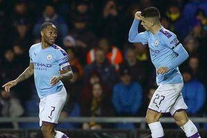 Giành vé vào bán kết League Cup, Man City đụng Man Utd