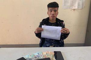Thanh niên phá két sắt trộm tiền, xuống thành phố Vinh mua 2 điện thoại IPhone X