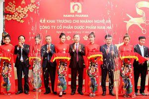 Khai trương Chi nhánh Công ty cổ phần Dược phẩm Nam Hà tại Nghệ An