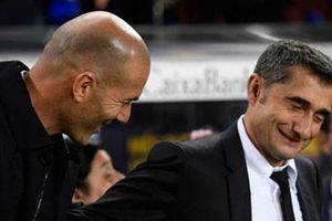 Valverde và Zidane nói gì sau trận Siêu kinh điển không bàn thắng?