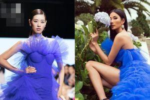 Hoàng Thùy - Khánh Vân chị chị em em đụng nhau một chiếc váy khiến fan 'bùng nổ' vì phấn khích