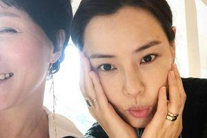 Hoa Hậu Hàn Quốc Honey Lee khoe mặt mộc
