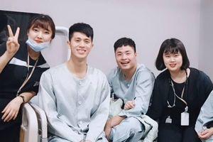 Đình Trọng liên lạc với nữ y tá từng chăm sóc cho mình tại Hàn Quốc