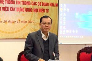 Thúc đẩy ứng dụng CNTT xây dựng Quốc hội điện tử