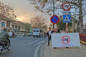 Đà Lạt cấm xe trên nhiều tuyến đường dịp Festival hoa