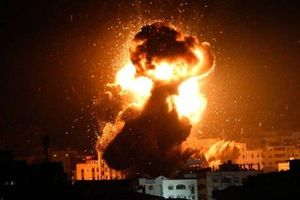 Miền Nam Israel tiếp tục hứng chịu đạn cối tấn công từ Dải Gaza