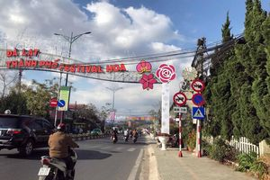 Đà Lạt cấm xe trên nhiều tuyến đường dịp Festival hoa 2019