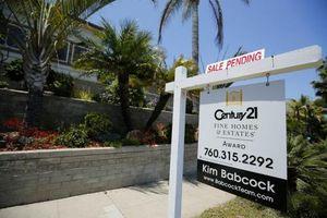 Mỹ: Doanh số bán nhà chạm mức thấp nhất trong 5 tháng qua