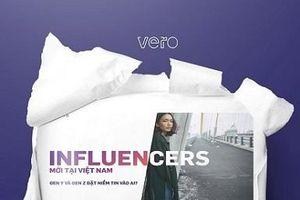Nghiên cứu mới chỉ ra rằng 'influencer' có sức ảnh hưởng mạnh mẽ đến giới trẻ Việt Nam
