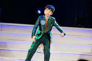 Con trai Hoàng Tùng - BTV Kiều Ngân lọt CK 'Giọng hát hay tiếng Hàn'