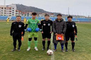 Thầy trò HLV Park Hang Seo kết thúc đợt tập huấn bằng trận thắng CLB Busan Transportation Cooperation