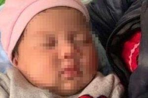 Bé gái hơn 1 tháng tuổi bỏ rơi trước cổng chùa giữa thời tiết lạnh cóng