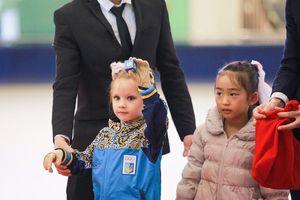 54 VĐV nhí tranh tài tại giải trượt băng nghệ thuật cúp Vincom