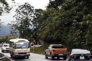 Giữa tuần này, phân luồng giao thông đường lên Sa Pa