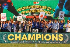 Becamex Bình Dương vô địch Giải bóng đá thiếu niên quốc tế U13 Việt Nam - Nhật Bản