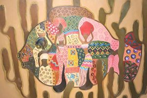 'Giao mùa' cùng 20 họa sỹ của UNESCO Mỹ thuật Hà Nội