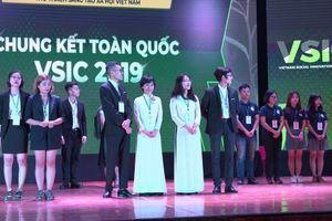 Dự án pin vỏ trấu đạt giải Nhất cuộc thi Thử thách sáng tạo xã hội Việt Nam