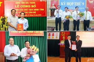 Tin nhân sự mới tại Nghệ An, An Giang, Sơn La, Khánh Hòa, Sóc Trăng