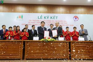 ĐT nữ Việt Nam có nhà tài trợ mới, hướng đến mục tiêu dự World Cup