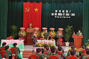 Quân khu 9 tổ chức đại hội Đảng cấp chi bộ đầu tiên để rút kinh nghiệm