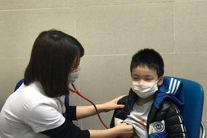 Bệnh cúm A gia tăng, nhiều bệnh nhi nhập viện
