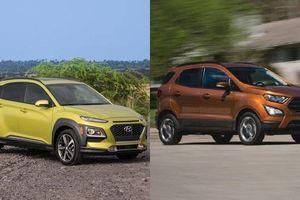 Tầm giá 600 triệu, chọn Hyundai Kona hay Ford EcoSport?