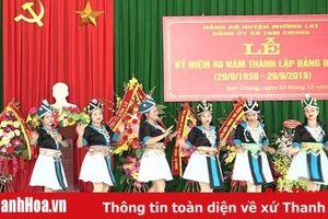 Kỷ niệm 60 năm thành lập Đảng bộ xã Tam Chung