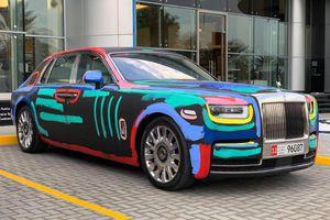 Rolls-Royce Phantom sơn 'lòe loẹt' theo phong cách đường phố
