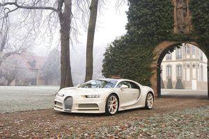 Siêu phẩm Bugatti Chiron 'độc nhất vô nhị' của đại gia BĐS